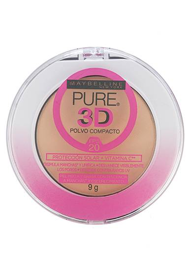 Pure Makeup 3D Polvo Compacto
